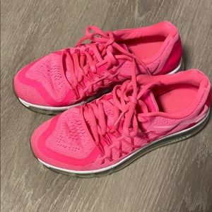 Nike air max bright pink size 5Y